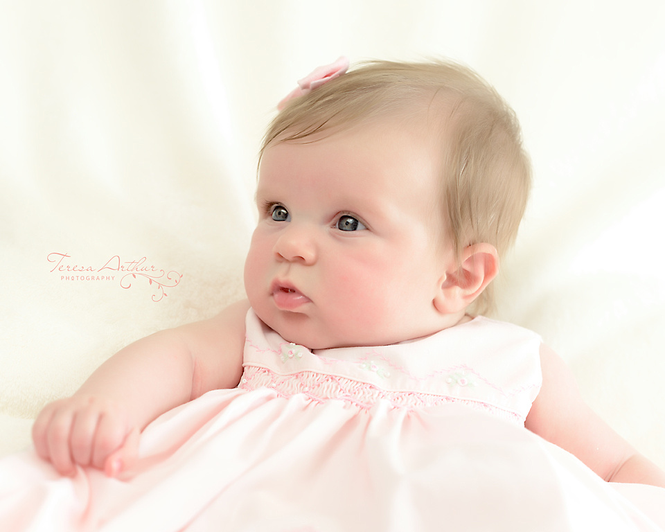 Baby Portrait at Three Months by Teresa Arthur Photography