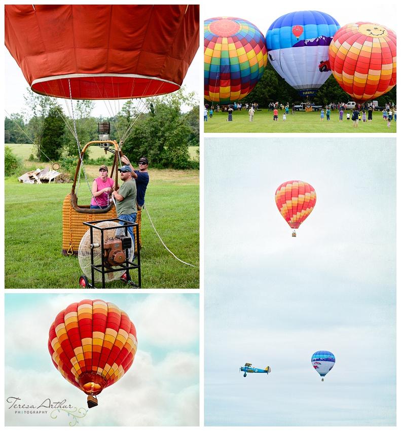 balloon festival bealeton virginia, teresa arthur photography, northern viginia family photography, northern virginia wedding photographer