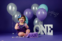 WARRENTON VA BABY PHOTOGRAPHER CAKE SMASH