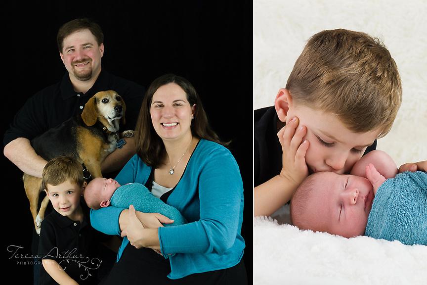 Newborn Family Portraits by Teresa Arthur Photography, LLC Warrenton Virginia
