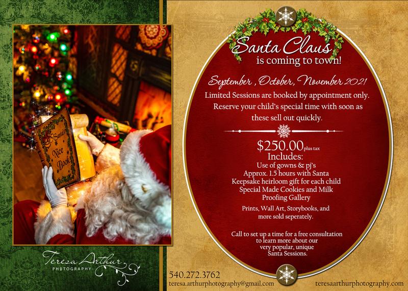Santa Experience in Northern Virginia 2021