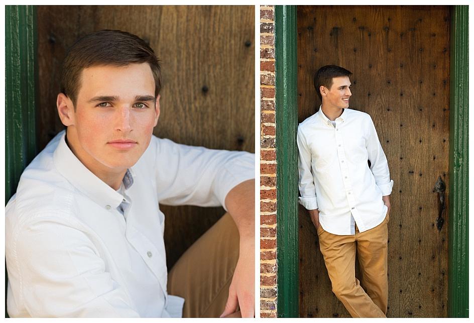 outdoor high school senior photo session in warrenton virginia