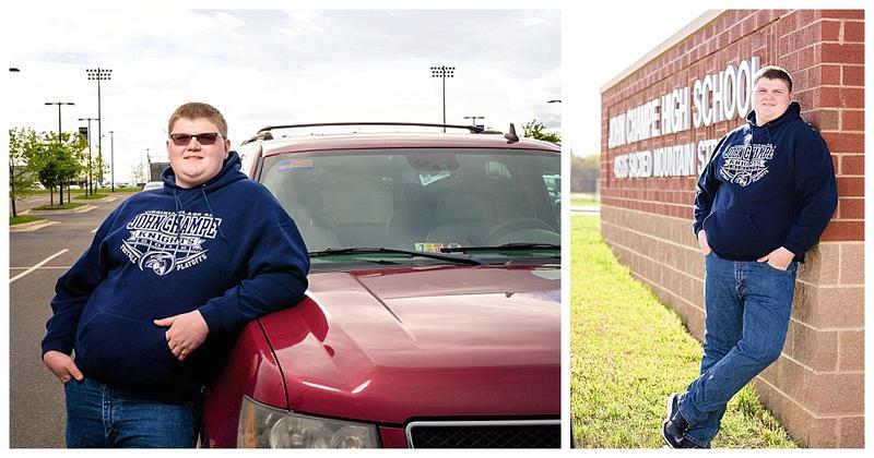 john champe high school senior portrait session by teresa arthur