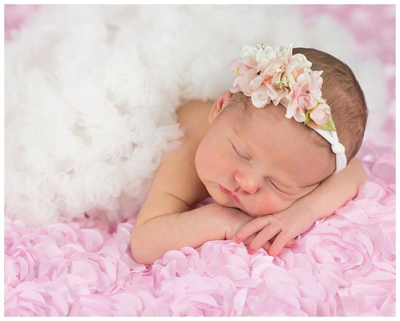 northern virginia newborn girl portrait by teresa arthur photography