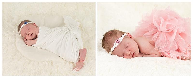 newborn girl photo session by teresa arthur photography