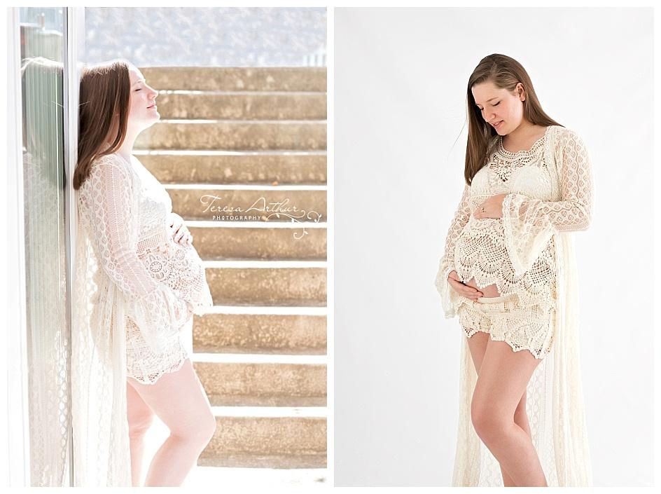 natural light maternity portraits by Teresa Arthur in Warrenton, VA-2