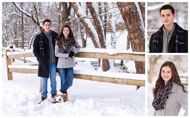 family snow photo session in warrenton va-teresa arthur photography