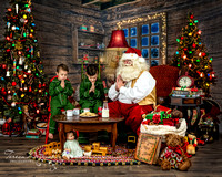 Santa photos in Northern Virginia area-Teresa Arthur Photography