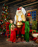 Santa Portrait Sessions by Teresa Arthur Photography