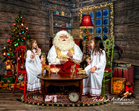 Santa Portraits by Teresa Arthur Photography