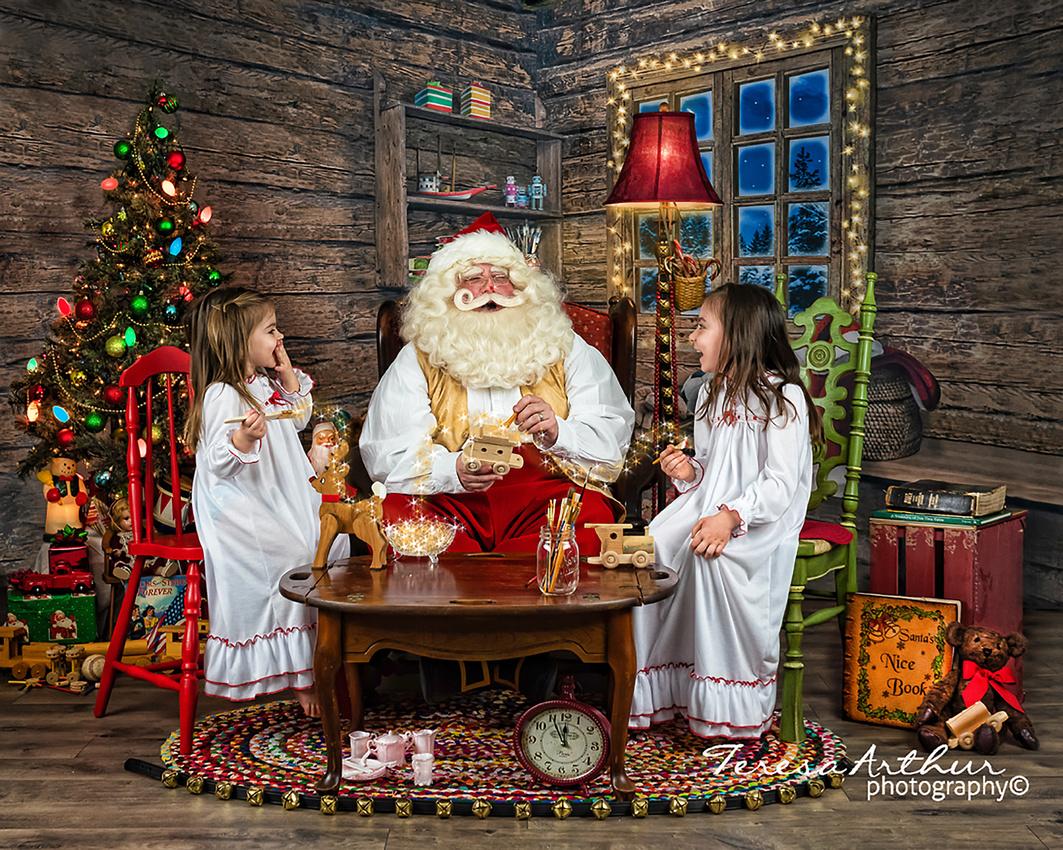 Santa Portraits by Teresa Arthur Photography