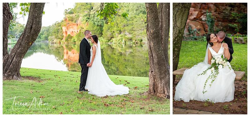 Salyer Lake Oklahoma Wedding