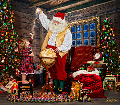 santa magical pictures by teresa arthur photography