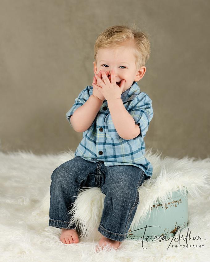 One Year Boy photo by teresa arthur photography