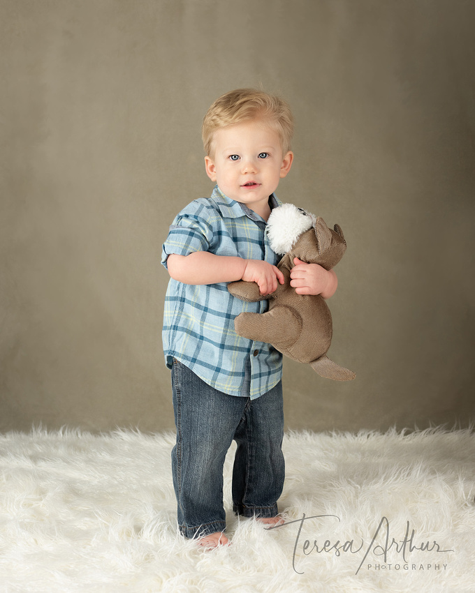 One Year baby portraits