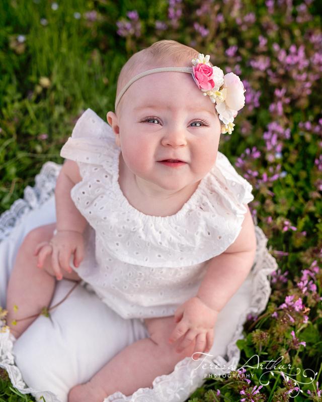 Outdoor baby portraits in NOVA by Teresa Arthur Photography