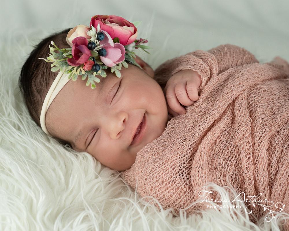 custom newborn portraits by teresa arthur photography