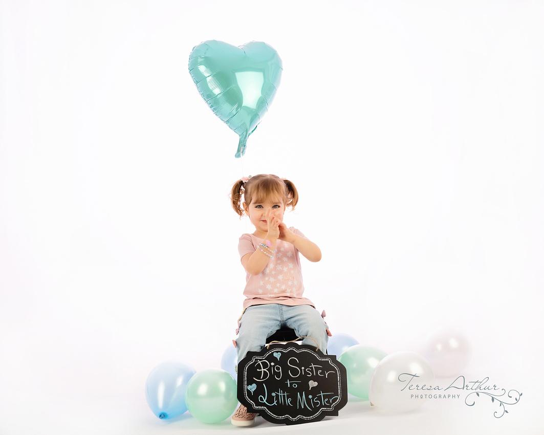 Birth Announcement Portraits by Teresa Arthur Photography