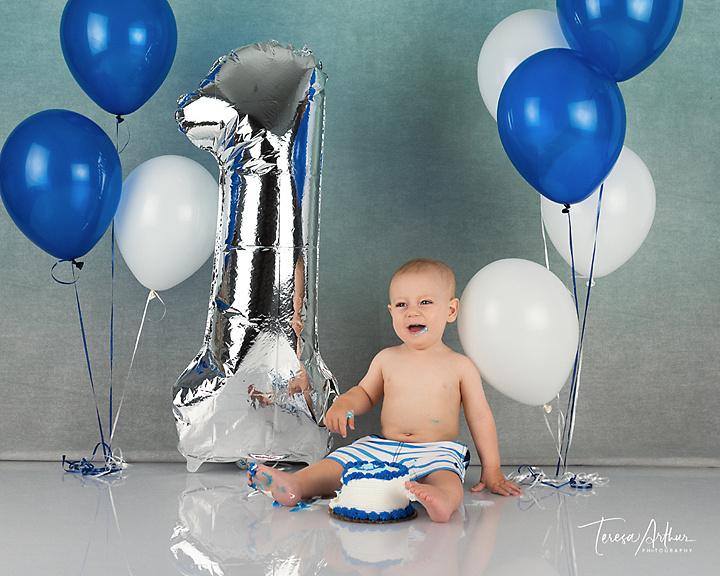 cake smash baby photos nova baby photographer