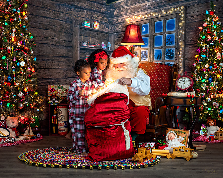 santa and christmas pictures in nova