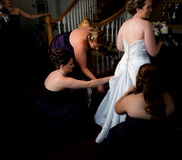 fauquier springs country club bride portrait