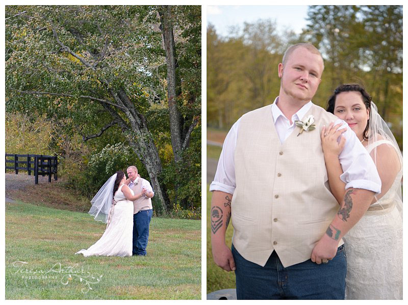 Outdoor Wedding at Fauquier County Fairgrounds
