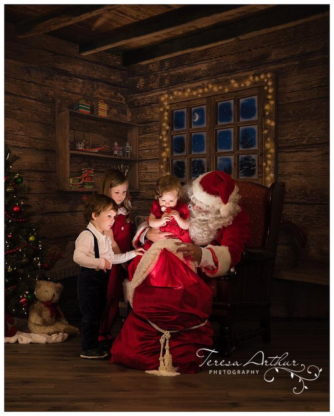 nova kid photographer santa pictures