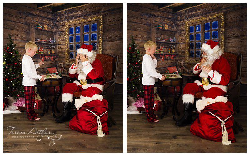 having cookies with santa by teresa arthur photography