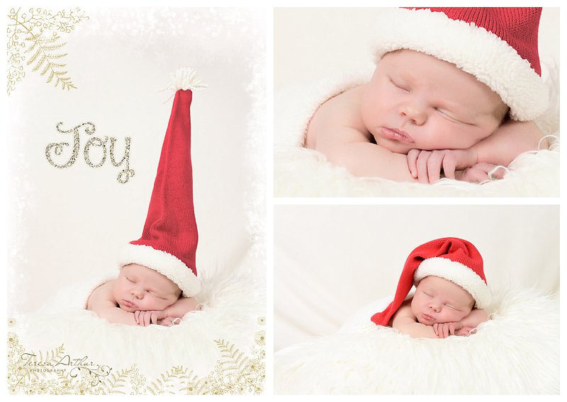 CHRISTMAS NEWBORN PHOTOS