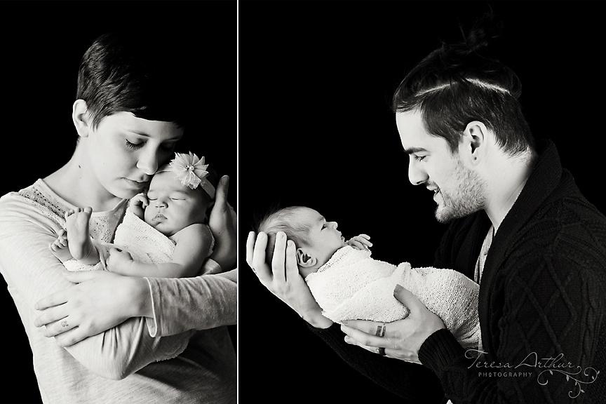 family and newborn photographer in nova