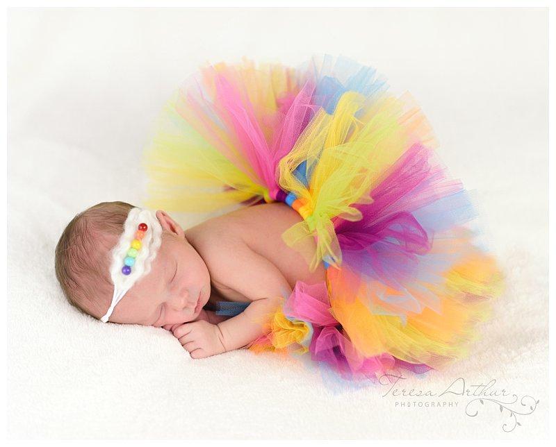 rainbow baby newborn portraits nova newborn photographer