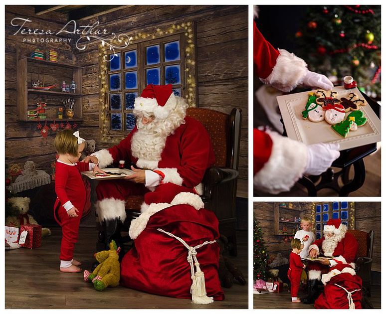 children's pictures with santa