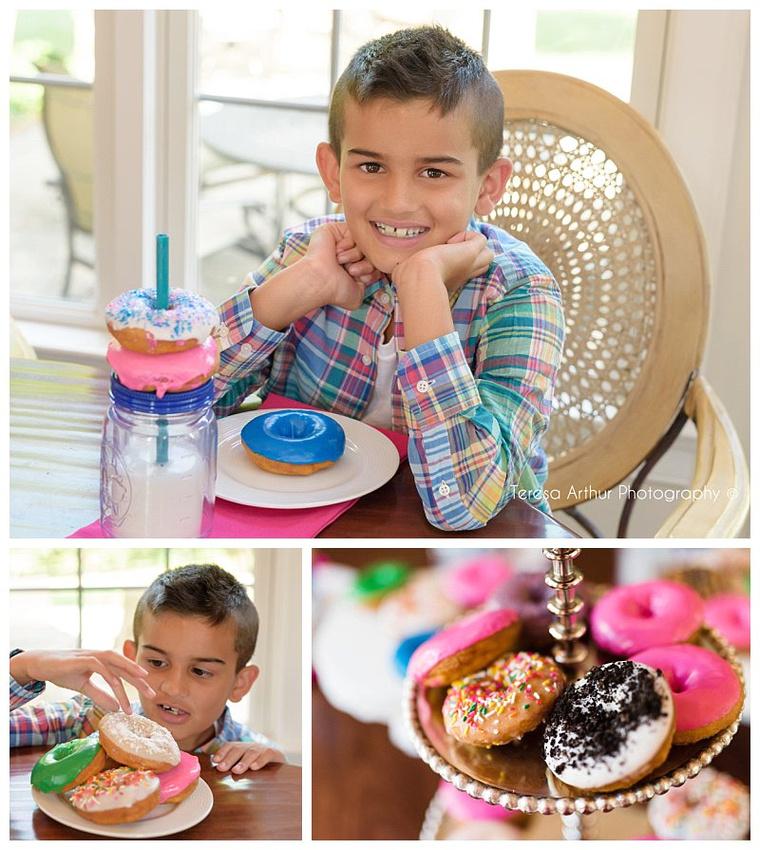 donut photo session
