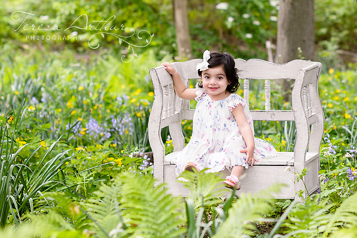 one year child portraits by teresa arthur photography