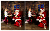 having cookies with santa by teresa arthur photography