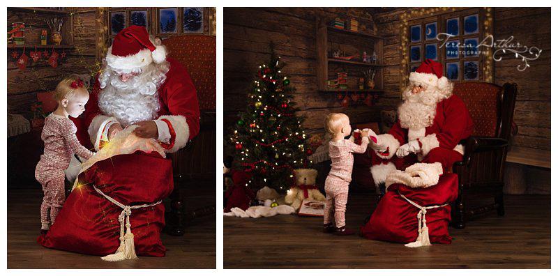 Santa Sessions by Teresa Arthur Photography