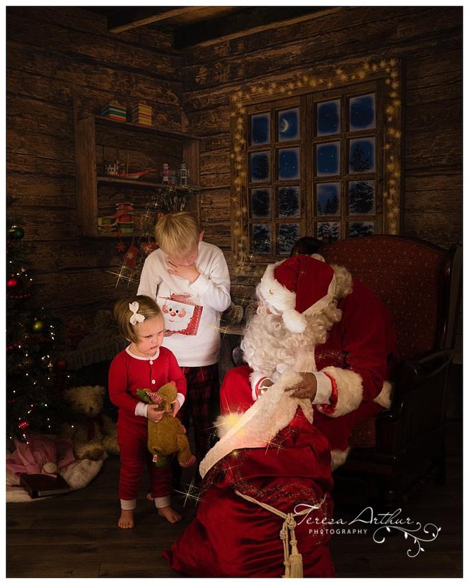 santa's magic toy bag