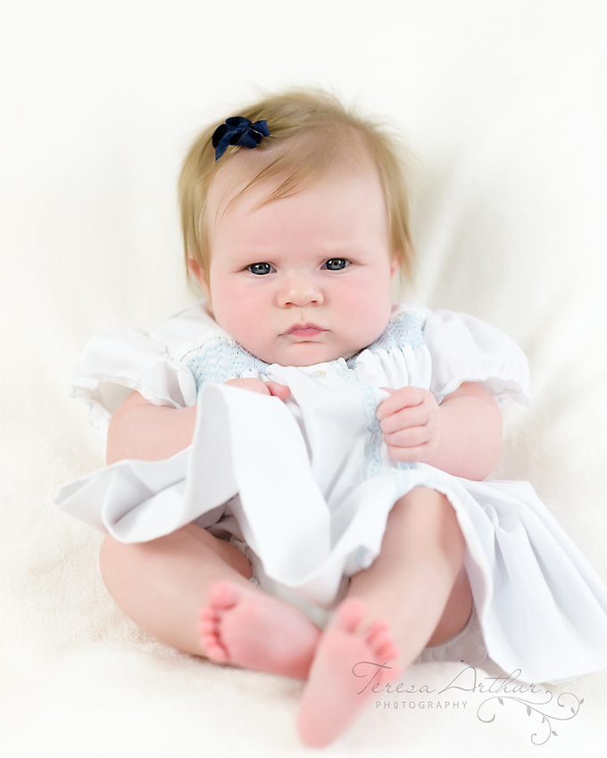 Baby Portrait at Three Months